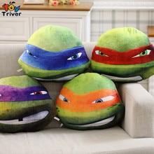 Quality plush Teenage Mutant Ninja Turtles cushion pillow stuffed toys doll for sofa office car home nap cushion Triver Toy