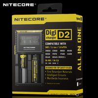 New Benchmark in Intelligent Chargers Nitecore D2 LCD Displays Digital AA / 18650 Battery Charger for Flashlight|benchmark| |  -