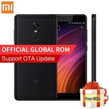 Оригинал xiaomi redmi note 4×4 ГБ 64 ГБ pro премьер мобильный телефон mtk helio x20 дека core 5.5 «FHD 13MP Камера Отпечатков Пальцев MIUI 8.1