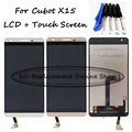 White/Gold 5.5 inch Full LCD Display + Touch Screen Digitizer Assembly Replacement For Cubot X15 X 15 + Free Tools