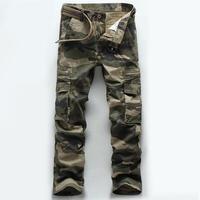 Camouflage Hommes Jeans 20107 Coton De Haute Qualité Plus Poche De Jeans Occasionnels Hommes Marque Sauvage Montagne Lâche Pantalon