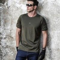 Для мужчин футболка Рубашка с короткими рукавами Coolmax Тактический футболка Для мужчин дышащая быстросохнущая армии США Combat футболка Camo o Ср...