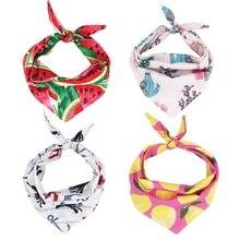 Бандана для собак Двусторонняя бандана галстук на бандана шарф для собак аксессуары для собак на подарки