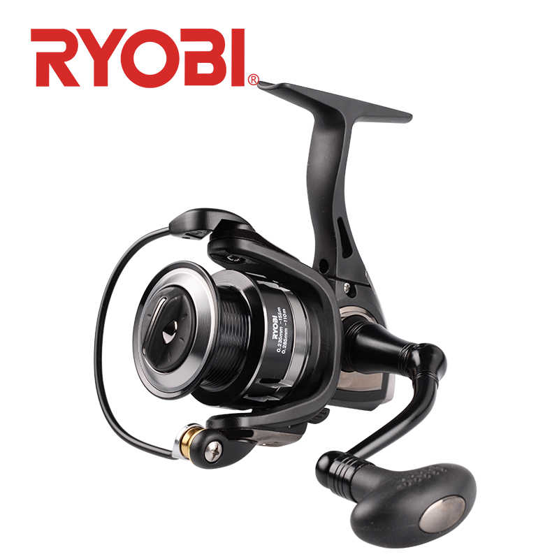 RYOBI TENJIN spinning reel pesca 2000/3000/4000/6000/8000 6+1BB Gear Ratio 5.1:1/5.0:1 carp fishing reels Spinning Wheel