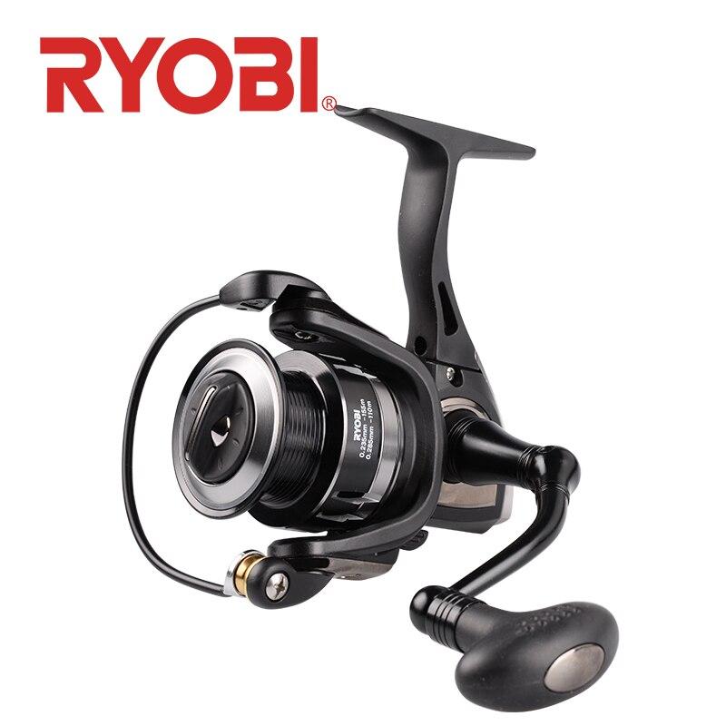 Bobine de filage RYOBI TENJIN pesca 2000/3000/4000/6000/8000 6 + 1BB rapport de vitesse 5.1: 1/5. 0:1 moulinets de pêche à la carpe