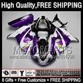 8Gift  Purple For SUZUKI TL 1000R TL1000R 98 99 00 01 02 03 78JK53 TL 1000 R 1998 1999 2000 2001 2002 2003 Purple white Fairing
