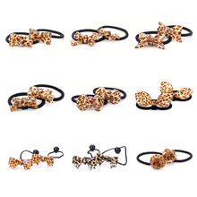 цены New Arrival styling tools Rabbit ears bow elastic hair bands hair accessories for women girl children make you fashion
