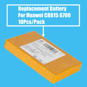 New Arrival 10PCS/PACK 2150mah Replacement Battery for Huawei C8815 G606 G610 G700 G710 G716 High Quality