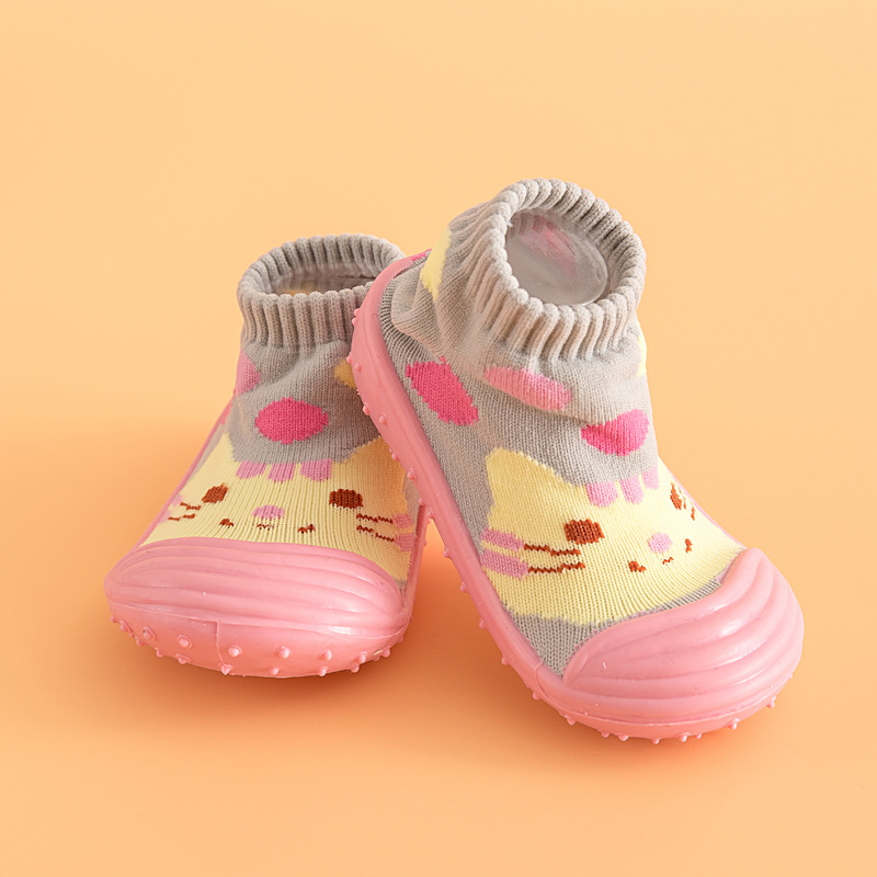 Baby Girls Boys Shoes Soft and Comfortable children attipas same design first walkers Anti-slip toddler shoes DS9