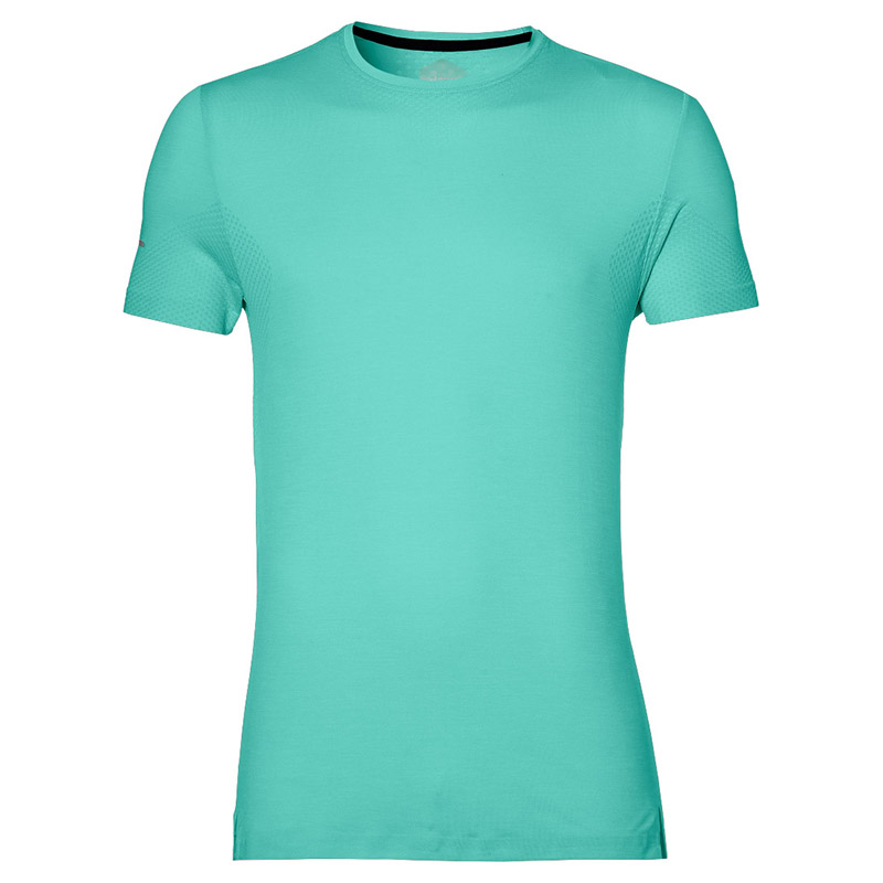 Male T-Shirt ASICS 154583-4118 sports and entertainment for men sport clothes TmallFS available from 10 11 asics running t shirt 141240 1107