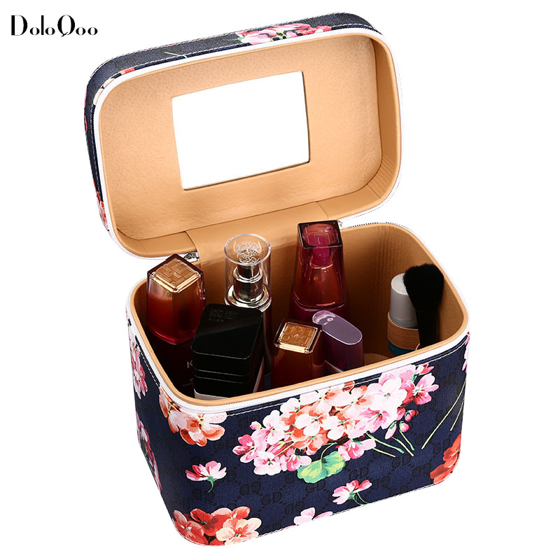 Large Capacity Cosmetic Bag Extra Toiletry Big High