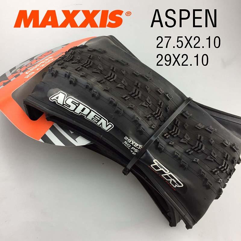 MAXXlS ASPEN Tubeless bicycle tires 29 29 2 1 ultralight 120TPI tubeless ready anti puncture mtb