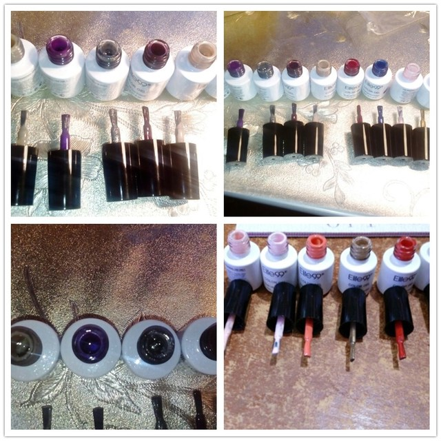 Elite99 Gel Nagellack 7ml Nagellack Vernis UV Farbe Gel Lak Top Basis Primer Gel Lack Lack UV LED Lampe Maniküre Gellak