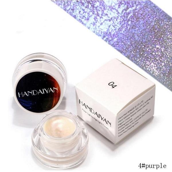 UCANBE Triangle Shimmer Highlighter Powder Eye Shadow