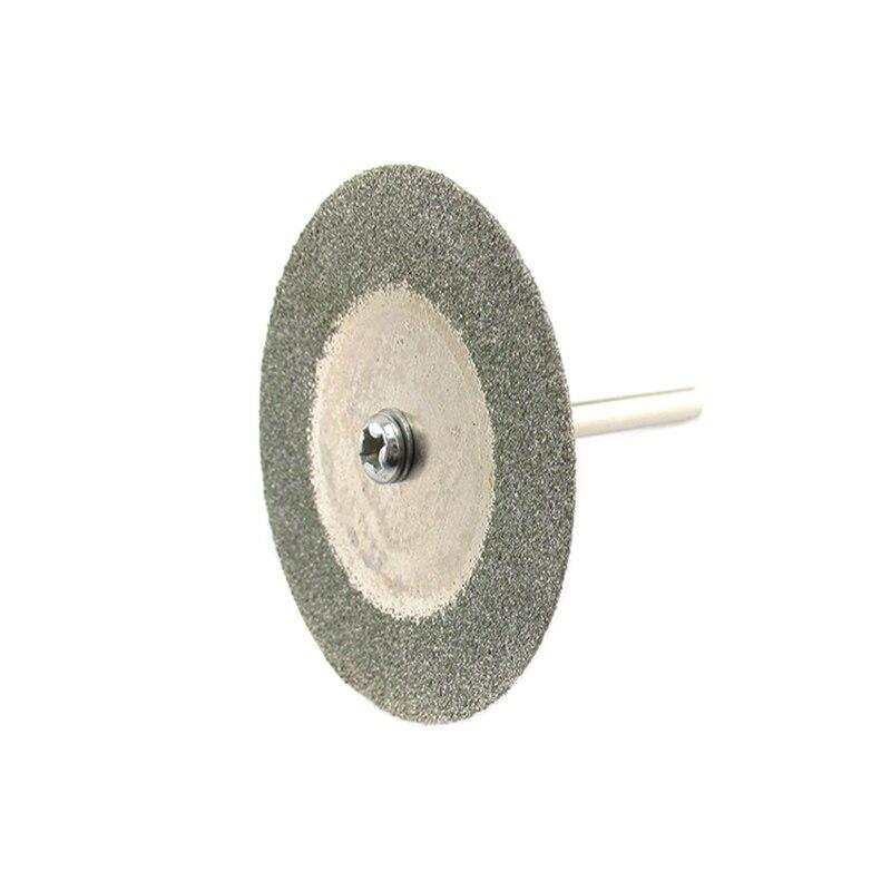 60mm Dremel Accessories Diamond Grinding Wheel Mini Circular Saw Cutting Disc Diamond Abrasive Disc Dremel Rotary Tool