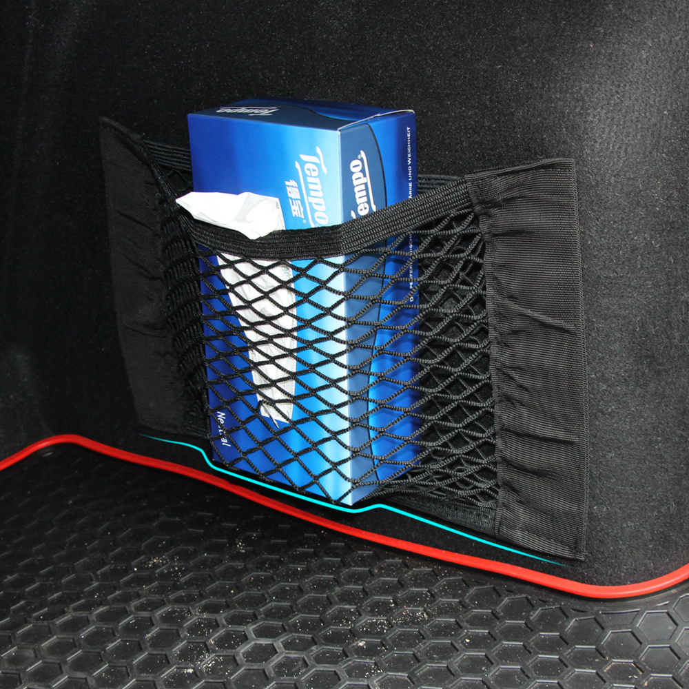 Image 5 - Car Trunk luggage Net For Volkswagen VW Polo Passat B5 B6 CC GOLF 4 5 6 Touran Bora Tiguan Peugeot 307 206 308 407 Accessories-in Car Stickers from Automobiles & Motorcycles