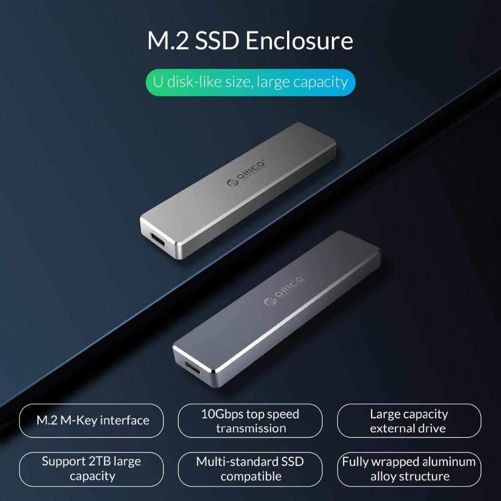 M.2 Enclosure NVME Type 1