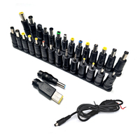 31pcs Universal Connector Plug Laptop DC Power Supply Adapter AC DC Jack Charger Connectors Laptop Power Adapter Conversion Head|head head|l connector|head adapter -