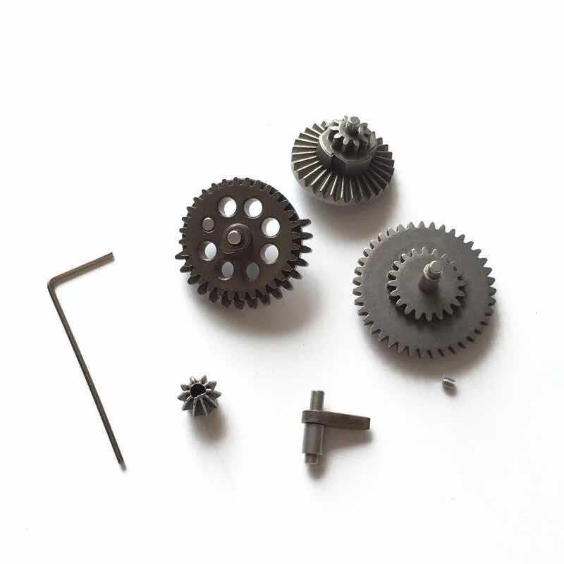 10 set 7 pcs/ensemble Gear Set Pièces Pour Jouet Gel Boule Blaster JinMing Mise À Niveau 8 Génération M-4A1 Bombe À Eau Vitesse boîte