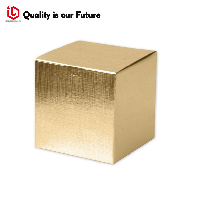 Golden box Custom Logo Made Printed Luxury Leather Paper Jewelry Gift Boxes Recycled Pap ...