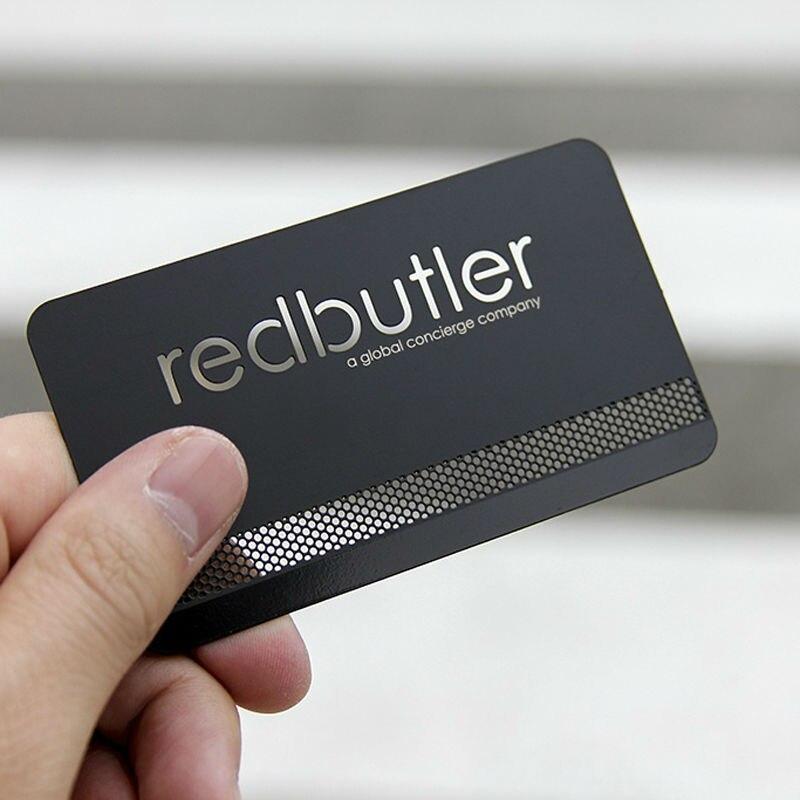 Boreder Terriier design pu noir et métal professionnel ou carte de crédit titulaire cadeau