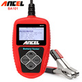 Original Ancel BA101 Car Battery Tester 12V Automotive Vehicle Power Analyzer 100-2000CCA 220Ah Auto Scanner Tools Free shipping