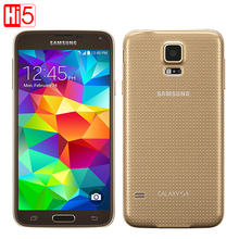 Unlocked Samsung Galaxy S5 G900F Android mobile Phone 16G ROM 16MP Camera 5.1″ Touch screen Quad Core Wi-Fi GPS smart phone