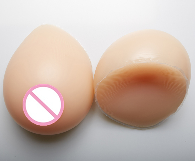 Transgender and Crossdressing Breast 1200g/pair Silicone Artificial Breast False Boobs Mastectomy Breast Form 2000g pair size11 110c silicone breast form prosthetics for mammary cancer and mastectomy patients boobs restore integrity