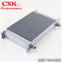 Universal 25 row an10 transmissão do motor 248mm refrigerador de óleo prata