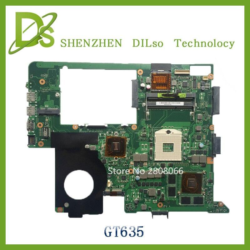 For ASUS N76VJ N76VZ Laptop motherboard N76V mainboard REV 2.2 GT635 Non-Integrated 100% tested freeshipping original