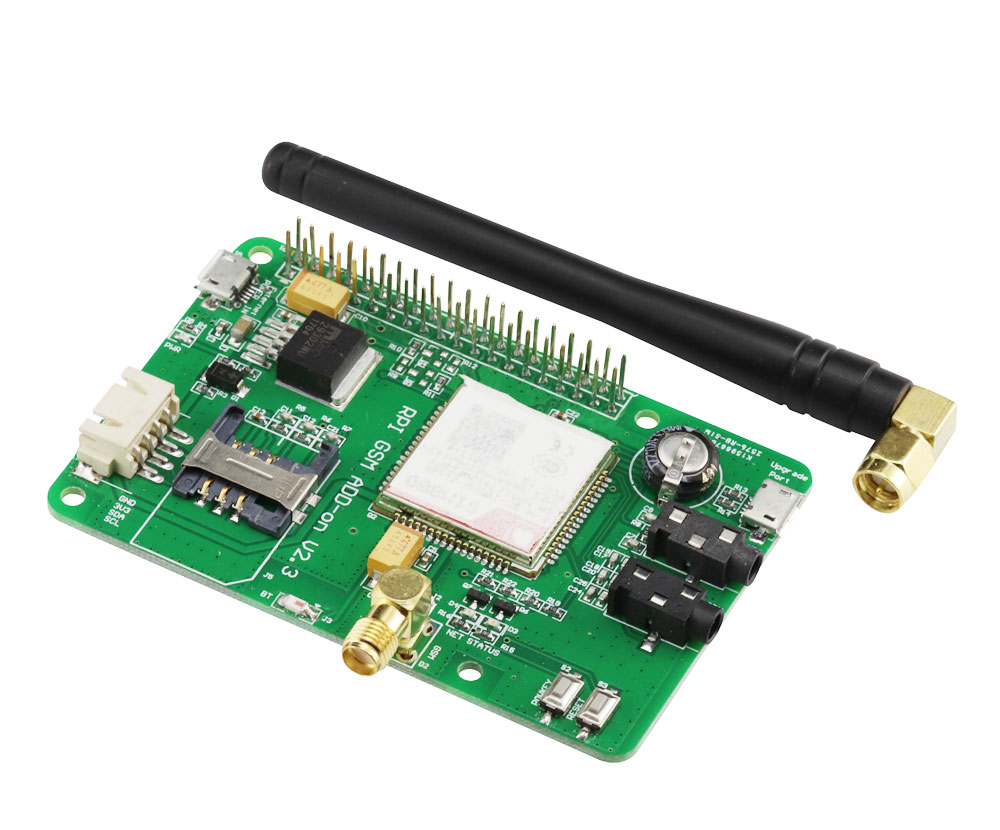 HOT SALE] NB IoT/eMTC/EDGE/GPRS/GNSS HAT for Raspberry Pi