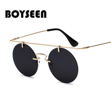 BOYSEEN Fashion Men Women Brand Designer Glasses Classic Rou