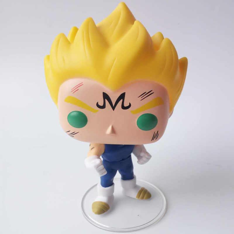 FUNKO POP Anime Japonês Dragon Ball Majin VEGETA #445 Vinyl Action figure Coleção Modelo brinquedos para Crianças presente de Aniversário
