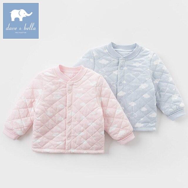 a0fc40f7655381 DB4709-A dave bella autumn baby unisex sleep top boys girls kids printed  pajamas tops children soft undershirt