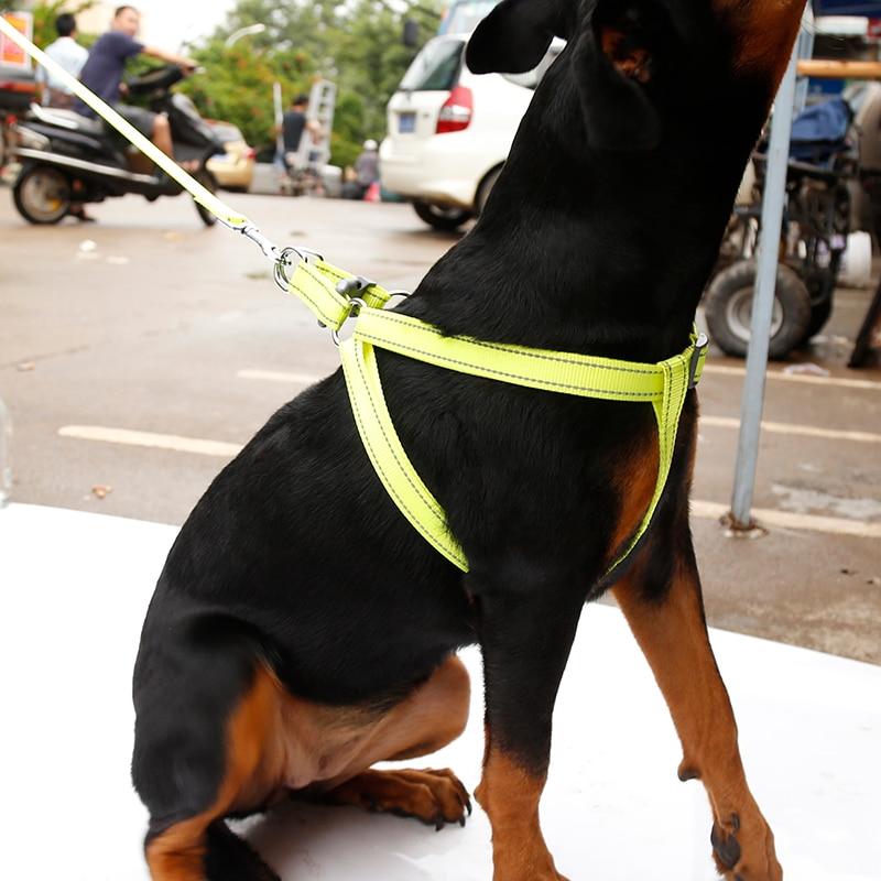 Reflecting Nylon Lare Pet Dog Step in Harness Safety Nylon Dog ...