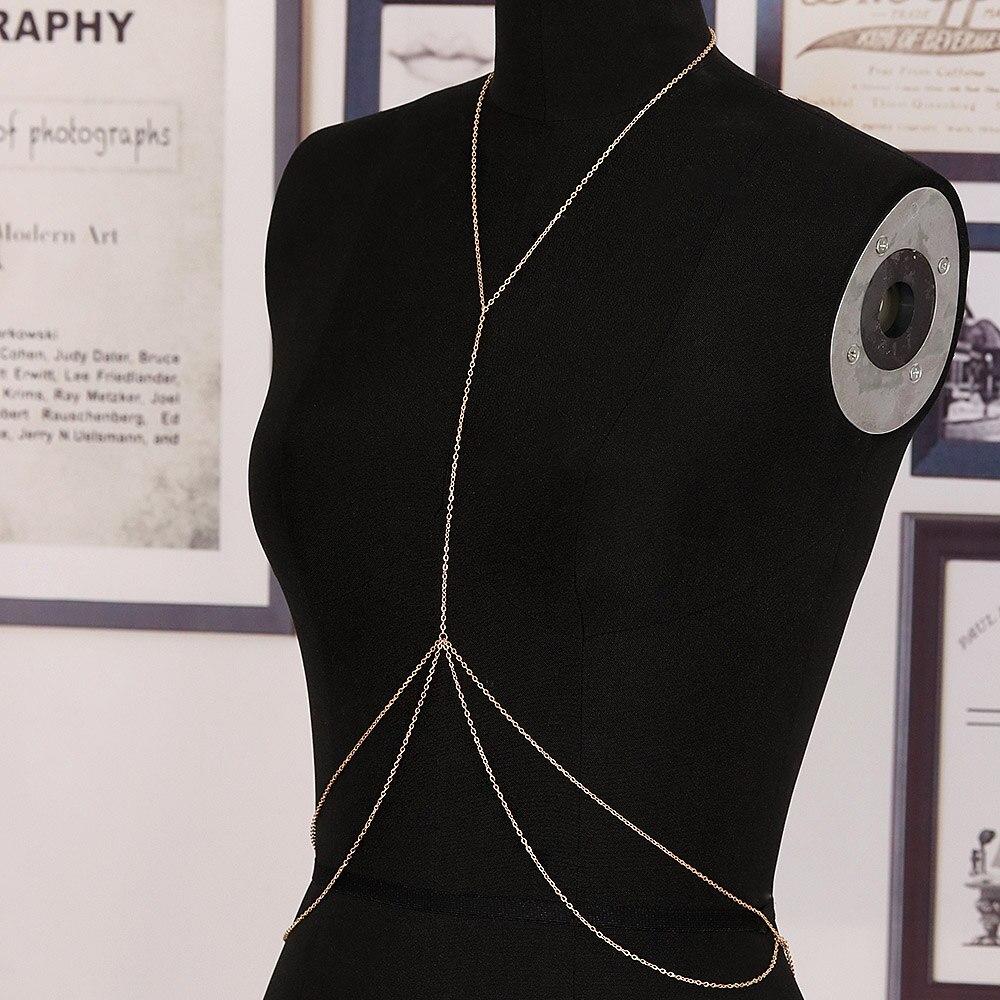 Bikini Jewelry Harness Body-Chain Belly-Waist Crossover Sexy Beach Fashion Gift Nice