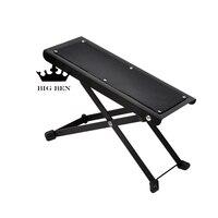 Folding Portable Classical Guitar Pedal Folk Guitar Footstool Pedals Metal 4 Adjustable Type Non Slip Guitar
