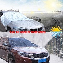 Car Auto Covers Automobiles Heated Windshield Front Window Curtain Cover Ice Screen SUV Vehicle Sun Shield Dust Rain Resist