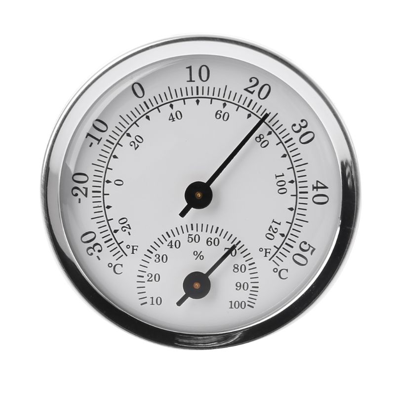 Wall Mounted Temperature Humidity Meter Thermometer Hygrometer For Sauna Room Household Wall Mounted Temperature Humidity Meter Thermometer & Hygrometer For Sauna Room Household