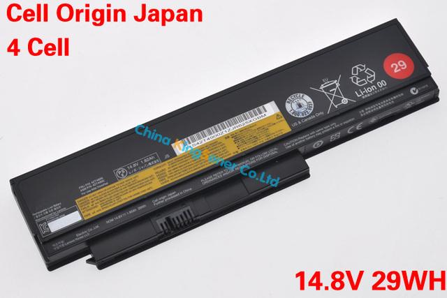 Celular japonés Original nueva batería del ordenador portátil para Lenovo ThinkPad X220 X220I X220S 0A36283 42T4899 42T4900 14.8 V 29WH 4CELL