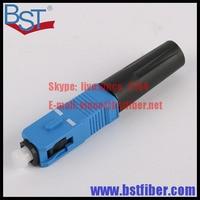 Wholesale 100pcs Lot SC UPC Optic Fiber Quick Cold Connector FTTH SC Single Mode UPC Fast
