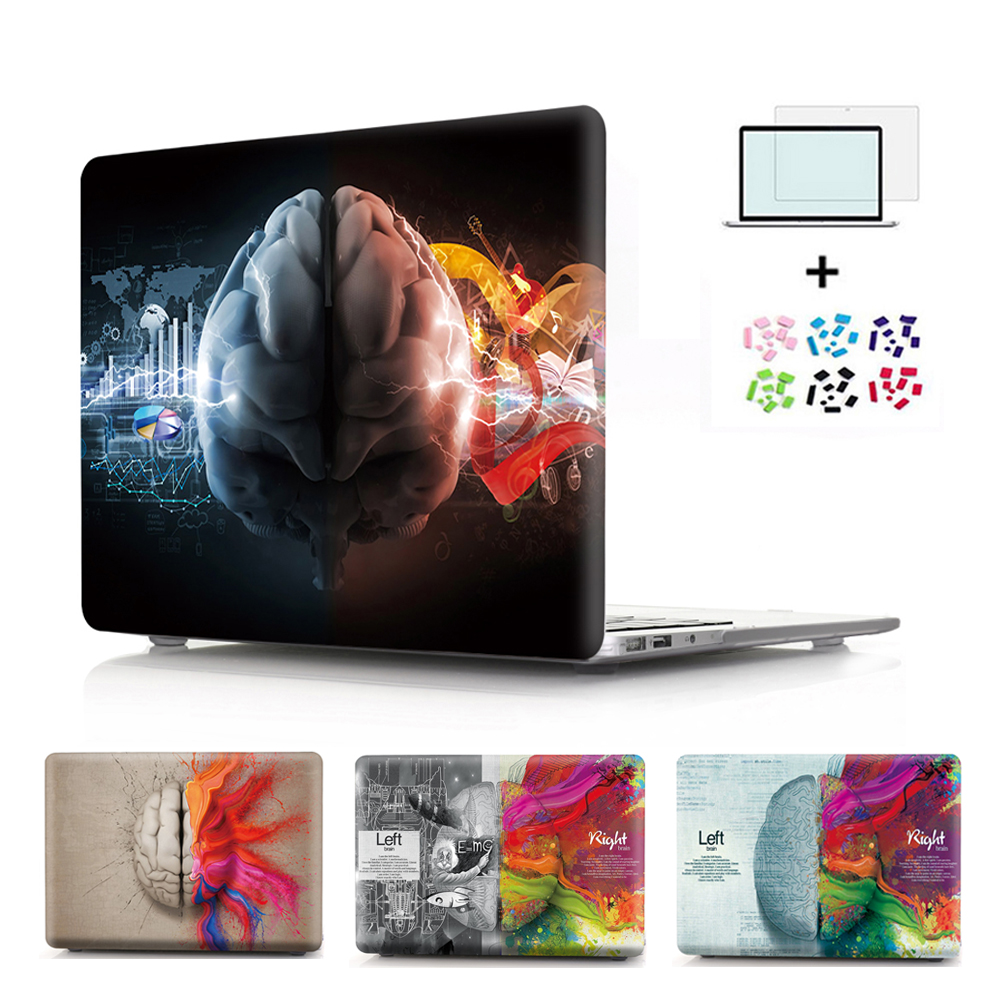 GOOYIYO - For Macbook Pro 15 A1286 Cases Laptop PC Case Left & Right Brain Skin Plastic Computer Cover Notebook Sleeve Shell ...