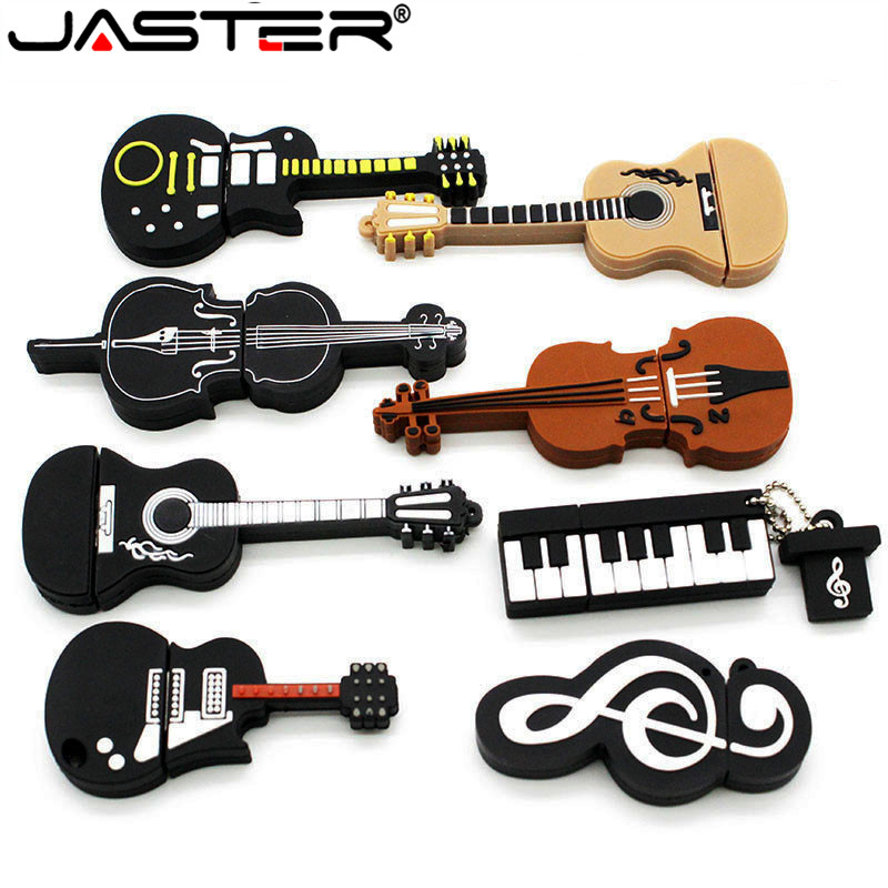 JASTER Model-Pendrive Musical-Instruments Usb-Flash-Drive 64GB 32GB 16GB No 8-Styles