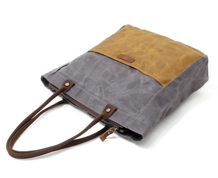 Vintage New Oil Wax Canvas Handbags