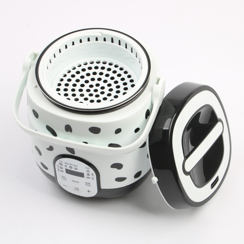 DMWD 1.6L Mini Fornello di Riso Elettrico Per 1-2 Studenti 6 Menu di Viaggio Portatile Intelligente Zuppa di Pentola Yogurt Maker 24 H di Distribuzione 220 v