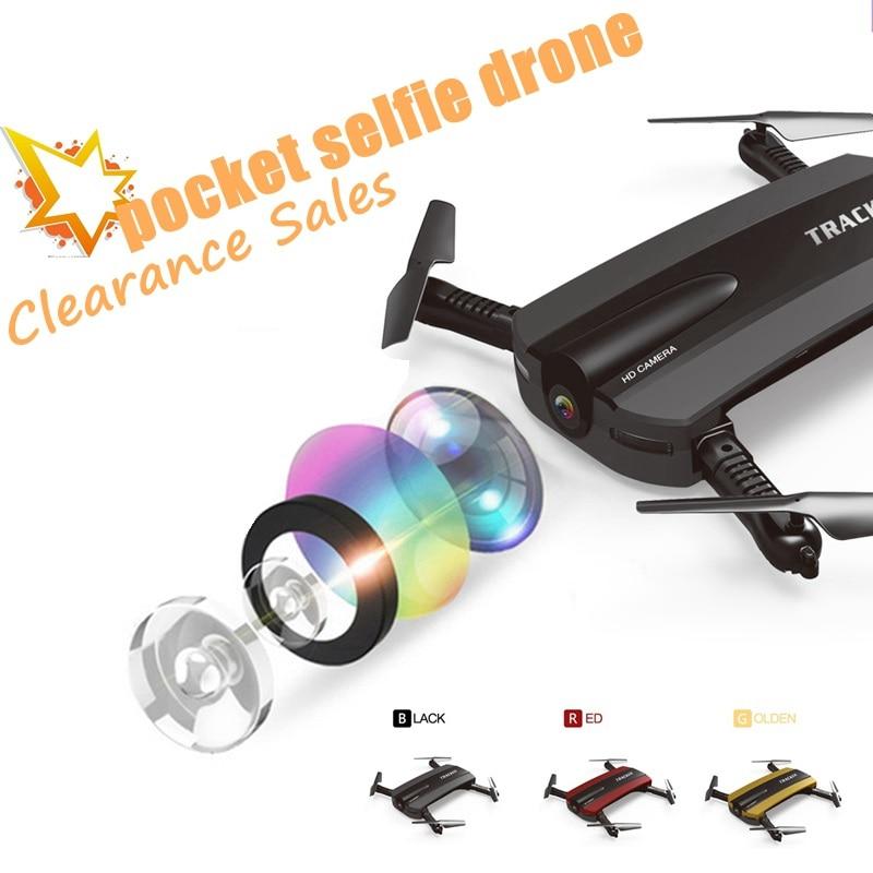 Fpv bolsillo Selfie Drone RC Quadcopter con cámara Drone Wifi plegable Quadcopter Mini helicóptero juguetes VS JY018 E56 helicóptero