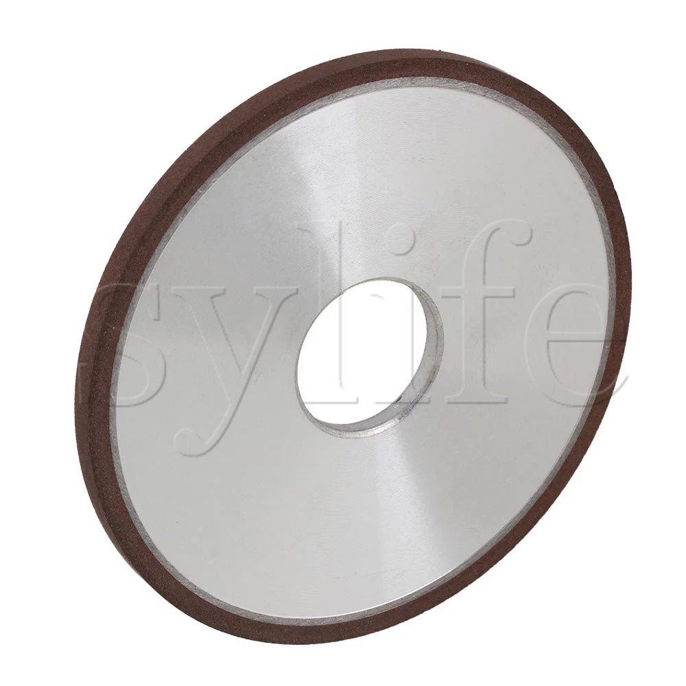 125mm Diamond Aluminum Resin Parallel Disc Grinding Wheel Grit 150# For Snagging