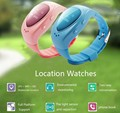 2016 New Waterproof fashion A6 GPS Tracker Watch For Kids Children Smart Watch with SOS Google map Button GSM Phone Wristwatch