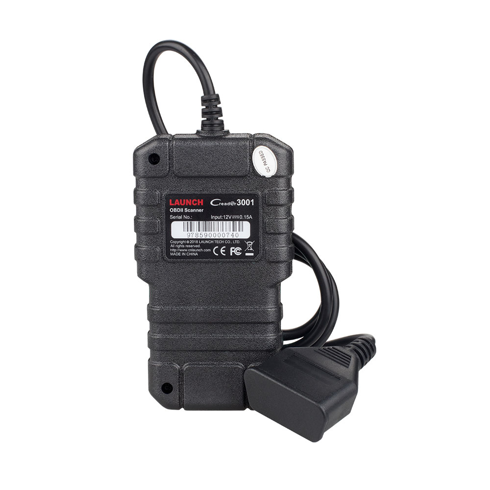 Image 3 - Launch X431 CR3001 OBD2 OBDII Auto Code Reader Scanner Creader 3001 Car Diagnostic Tool Same as Al419 PK ELM327 AD310 Scan tool-in Car Diagnostic Cables & Connectors from Automobiles & Motorcycles