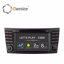 Ownice GPS DVD Multimedia Player for Mercedes-Benz MB W211 E200 E220 E240 E270 E280 E300 E320 E350 E400 E420 E55 E500 CLK W209